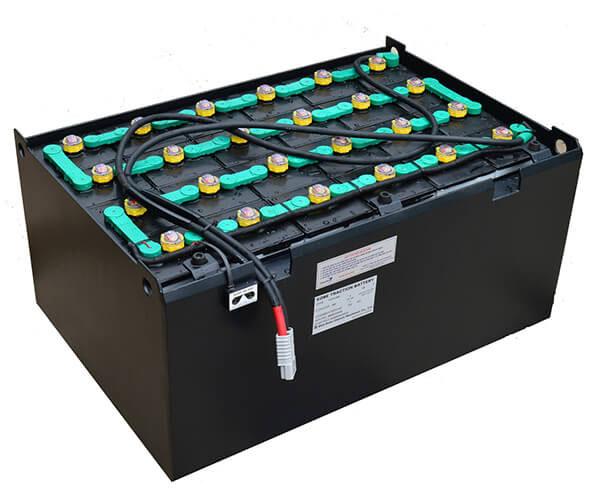 ắc quy xe nâng hitachi 48v/330ah.dùng cho xe nâng điện