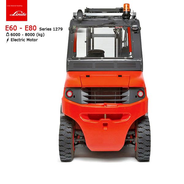 xe nâng điện ngối lái linde e60-e80 2